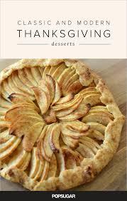 thanksgiving dessert recipes popsugar food