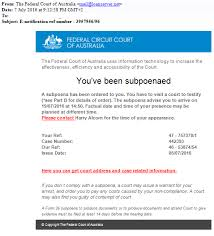 federal circuit court map media release spam warning federal circuit court of australia