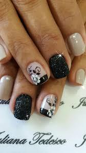 398 best uñas cortas flores images on pinterest nail art nails