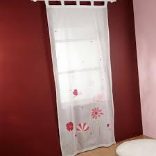 tenture chambre bébé rideaux filles paire de rideaux enfant ronds colors with rideaux