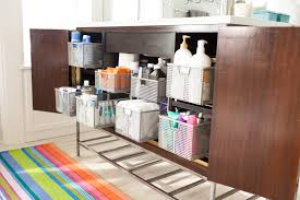 bathroom cabinet organizer decorating home ideas