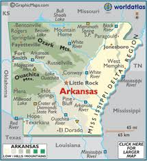 us map with arkansas arkansas map geography of arkansas map of arkansas worldatlas