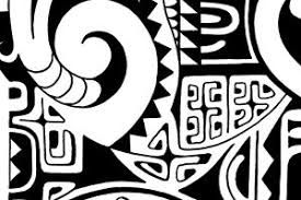 the rock tattoo design original polynesian drawings