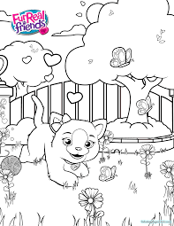 furreal friends coloring pages colotring pages