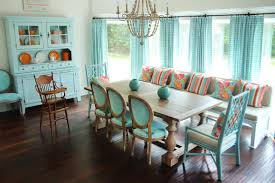 Pleasing  Beach Style Dining Room  Decorating Design Of - Beachy dining room