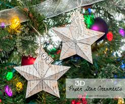 3d paper star ornaments happycardfactory designs