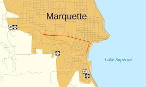M 52 Michigan Highway Wikipedia by U S Route 41 Business Marquette Michigan Wikipedia