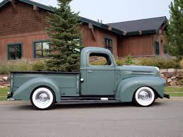 Ford Old Pickup Truck - 1946 ford 1 2 ton custom pickup adamco motorsports