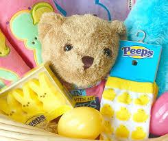 peeps easter basket peeps tastic easter basket idea printable this ole