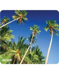 find the best deals on allsop naturesmart mouse pad palm trees 31427