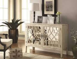 Accent Cabinets by Coaster Home 950321 Antique White Accent Cabinet Coah 950321