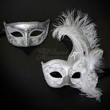 masquerade masks for couples bridal s masquerade masks masquerade masks silver white