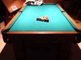 brunswick slate pool table brunswick santa fe 8ft slate pool table 1970 s 1 200