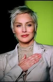 coupe cheveux gris coupe cheveux courts gris pinteres