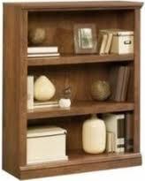 Sauder 3 Shelf Bookcase Cherry Black Friday Savings On Sauder Boone Mountain 3 Shelf Bookcase In