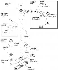 kohler forte kitchen faucet kohler forte kitchen faucet parts diagram www allaboutyouth net
