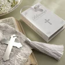 religious party favors 100pcs lot factory outlet wholesale silver cross bookmark religion