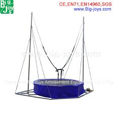 Backyard Gymnastics Equipment Trampoline Bungee Harness Gymnastics Equipment Bungee Jumping