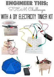 diy engineering projects stem challenges with a diy electricity tinker kit stem