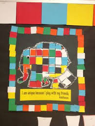 Patchwork Elephant Book - 10 colourful and creative elmer crafts activities craft and