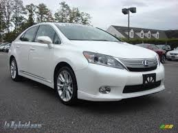 lexus hybrid 2012 2010 lexus hs 250h hybrid premium in starfire white pearl 036295