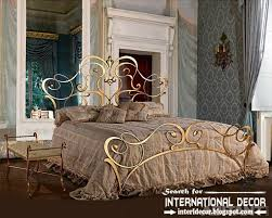 royal italian golden wrought iron bed and headboard 2015 for