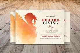 thanksgiving day flyer template flyer templates creative market