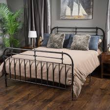 Metal Bed Frames Queen Harriet Metal Queen Bed
