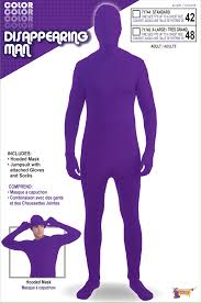 el zorro halloween costumes c863 disappearing man second skin full body suit zentai bucks