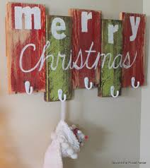 Christmas Stocking Ideas by Decorating Chic White Christmas Stocking Hanger On Green And Red