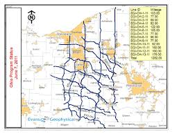 Coshocton Ohio Map by Brokered Seismic Data In Ohio