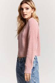 chenille knit sweater forever21