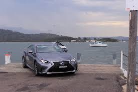 lexus australia rc auto review 2017 lexus rc 200t f sport exhaust notes australia