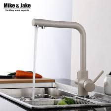 water filter kitchen faucet aliexpress buy dual function 3 way water filter kitchen