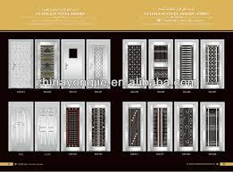 Commercial Exterior Steel Doors Residential Entry Stainless Steel Door Ges 288 View