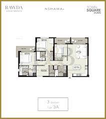 Burj Al Arab Floor Plans Rawda Nshama Town Square Apartment D U0026b Properties