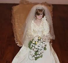 amazon com the princess diana porcelain bride doll by the danbury