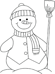 coloring page snowman family snowman coloring page but preschool snowman coloring page coloring