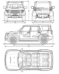 land rover drawing land rover discovery blueprint download free blueprint for 3d
