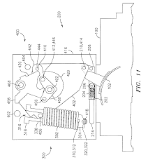 patent us6559743 stored energy system for breaker operating
