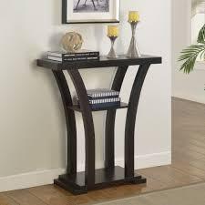 Entryway Console Table by Entry U0026 Mudroom Crown Mark Draper Entryway Console Table With Shelf