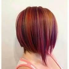 highlights for inverted bob purple hair highlights yodahair pinterest purple highlights