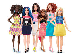barbie dolls body types
