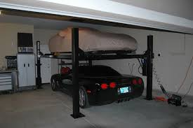 Low Ceiling 2 Post Lift by Car Lift For Garage Home Design By Larizza
