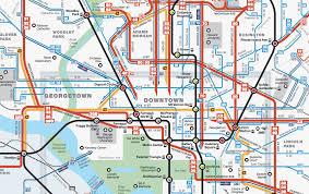 washington dc metrobus map dc guide mgrass info