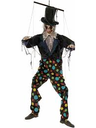 animated swinging clown marionette costume infant toddler disney