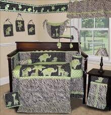 green crib bedding sets for baby boys