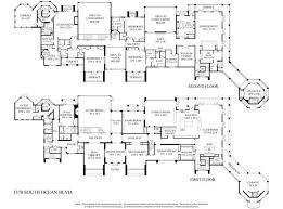 mansion floor plans 30 000 sf 1370 s boulevard in manalapan fl mansion