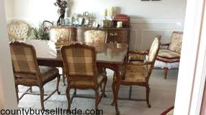 Heritage Dining Room Furniture Small Dining Table   Drexel - Drexel heritage dining room set