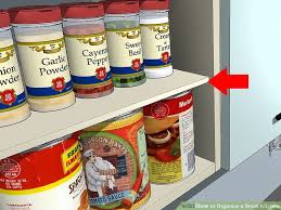How To Organise A Small Kitchen - 3 ways to organize a small kitchen wikihow